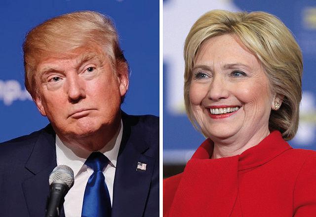 Donald Trump Hillary Clinton November 8 2016 presidential election