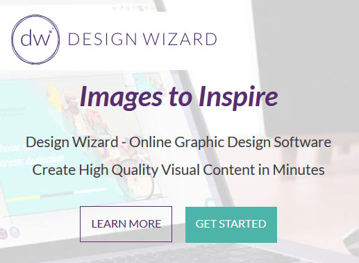 Create professional social media or print images in minutes