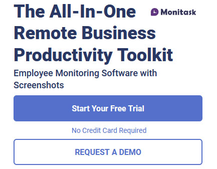 Monitoring software for time, task, and project tracking