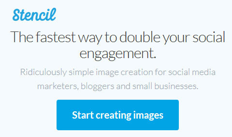 Simple image creation for social media - Get Stencil
