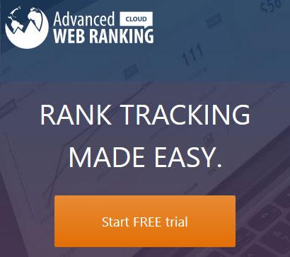 SEO rank tracking made easy - Advanced Web Ranking