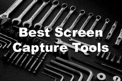 Best screen capture tools