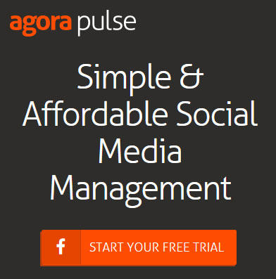Social media management with competitor benchmarking - Agorapulse