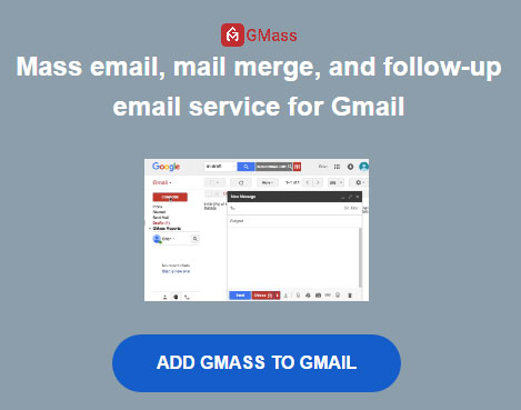 Powerful mail merge and followup for Gmail - Gmass