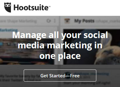 Manage all your social media marketing in one place - HootSuite