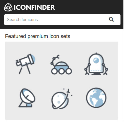 Premium icon sets for web designers - IconFinder