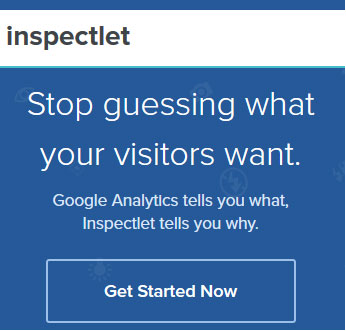 Capture video of every site visit for analytics - Inspectlet