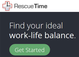 Improve your productivity with RescueTime