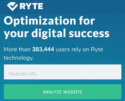 Complete SEO analysis and optimization - Ryte