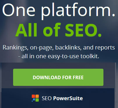 One platform for all SEO workl