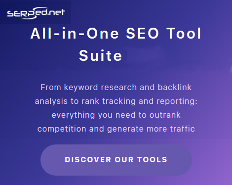 From keyword research and backlink analysis to rank tracking and reporting: everything you need to outrank competition and generate more traffic