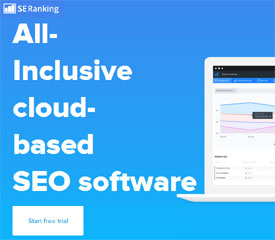 All-inclusive SEO auditing and ranking software - SE Ranking