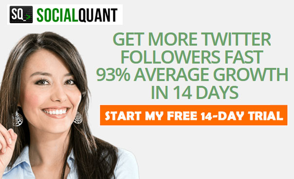 Grow Twitter followers fast with Social Quant
