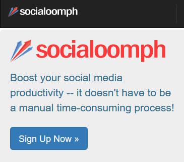 Boost social media productivity - SocialOomph