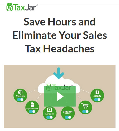 Simple ecommerce sales tax reporting - TaxJar