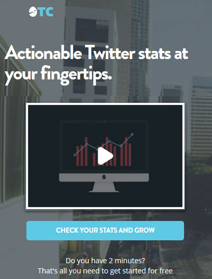 Actionable Twitter stats - TwitterCounter