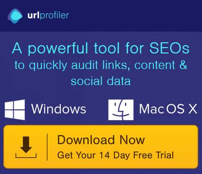 A powerful SEO tool - URLprofiler