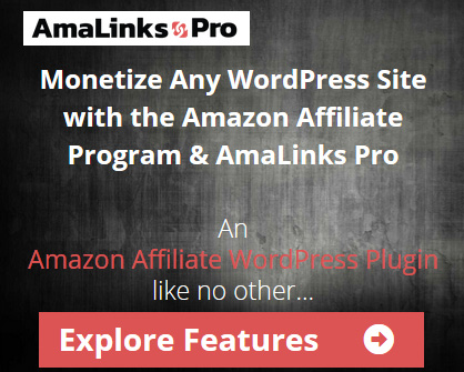 Monetize any WordPress site with the Amazon Affiliate Program and the AmaLinks Pro plugin
