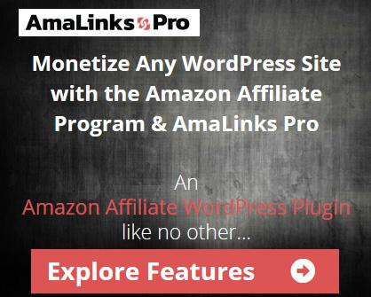 Monetize any WordPress site with the Amazon Affiliate Program and the AmaLinks Pro plugin