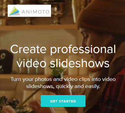 Create professional video slideshows - Animoto