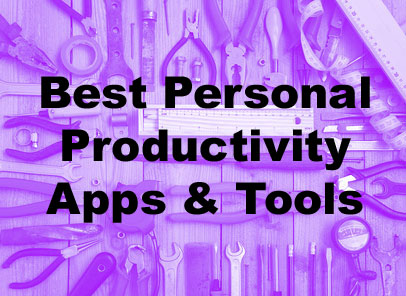 Best online personal productivity apps and tools