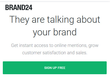 Instant access to mentions about your brand across the web