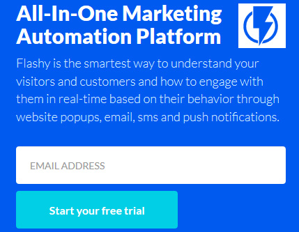 Email marketing and marketing automation tool for ecommerce sites