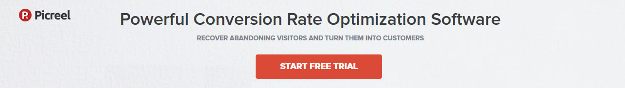 Powerful conversion rate optimization software - Picreel