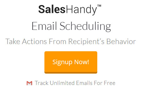Do marketing automation with Gmail - SalesHandy
