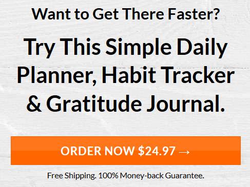 Simple Daily Planner, Habit Tracker & Gratitude Journal