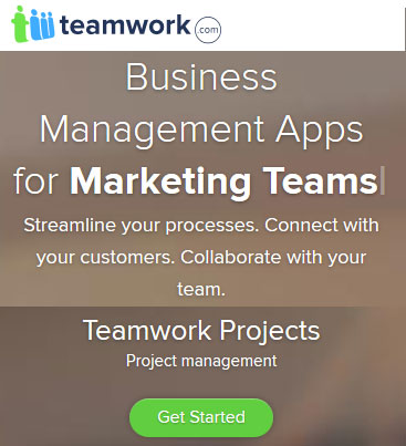 Keep marketing, software development and other teams on track with Teamwork Projects