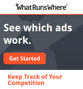 Monitor your competitors' ads online - WhatRunsWhere
