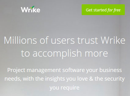 Project management software for business - Wrike
