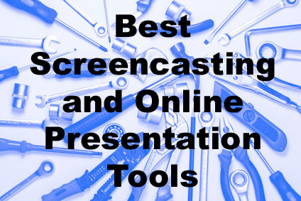 Best screencasting and online presentation tools
