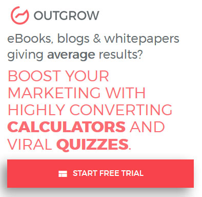 Generate sales leads with calculators and quizzes