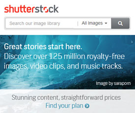 Find amazing content for your next project - Shutterstock