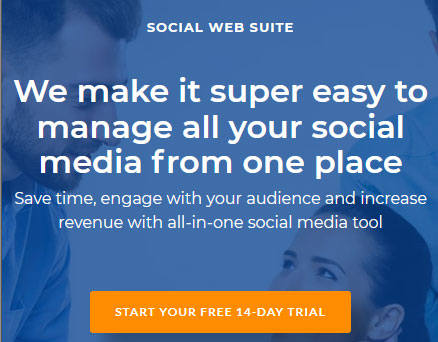 Save time, engage with your audience and increase revenue with all-in-one social media tool