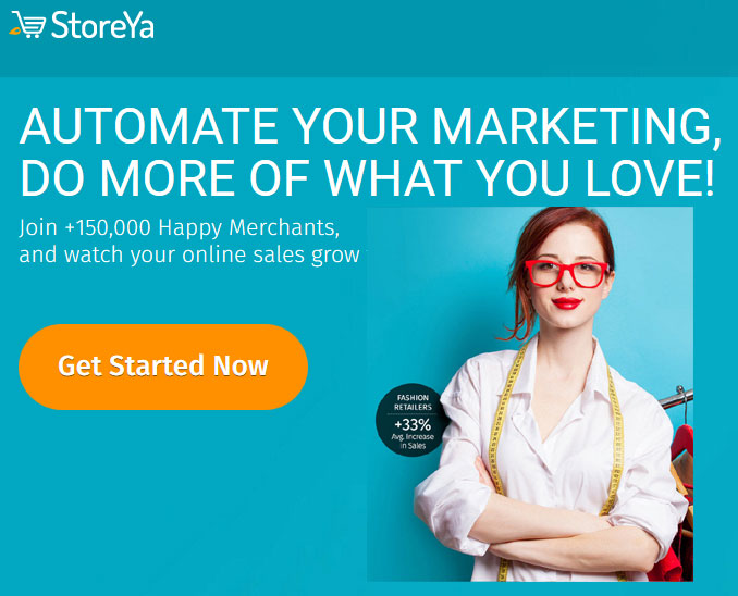 Automate online marketing with web store apps - StoreYa