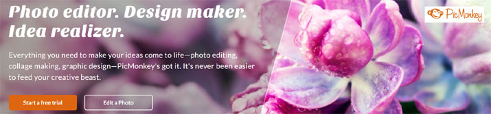 Easy, power photo editing - PicMonkey