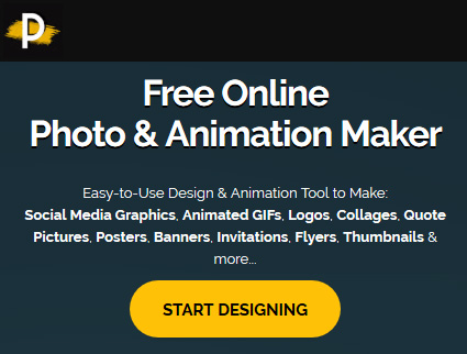 Easy online animation maker - PixTeller
