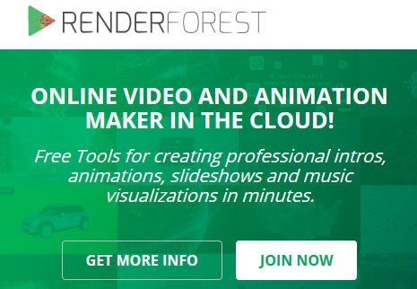 Create animated explainer videos for free with Renderforest