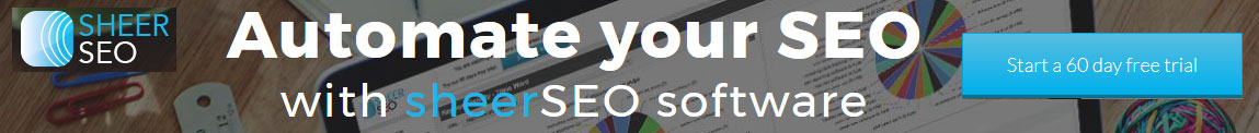 Automate SEO activities with Sheer SEO