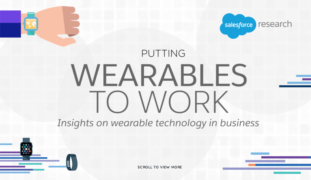 Salesforce wearables interactive marketing campaign