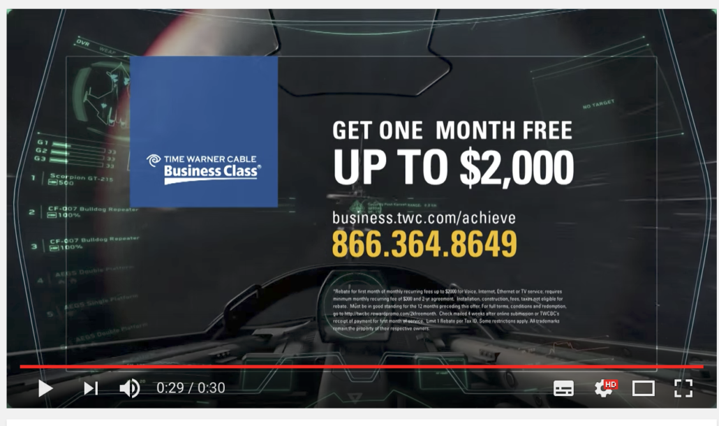 Time Warner business connectvity video campaign
