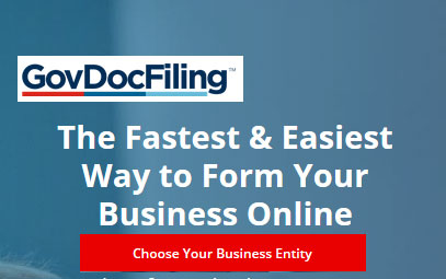 Fast easy online business formation tool GovDocFiling