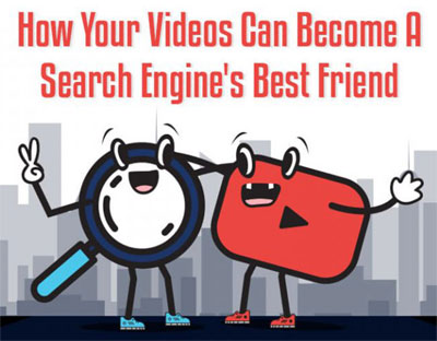 How to optimize video for search engines - infographic