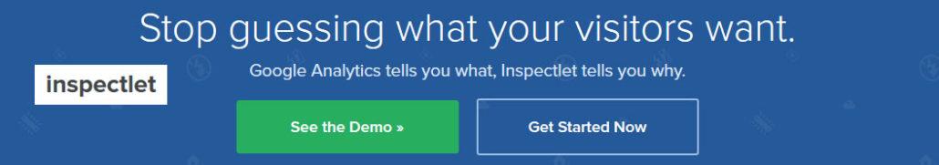 Better website analytics - Inspectlet