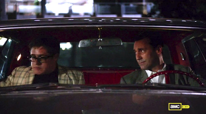 Harry Crane and Don Draper from Mad Men