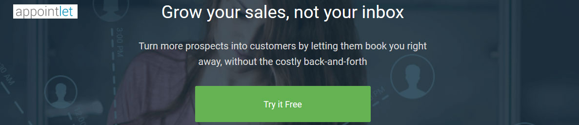 Grow your sales with Appointlet