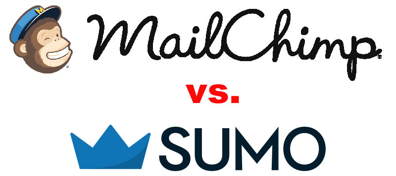 MailChimp vs. Sumo list builder bakeoff